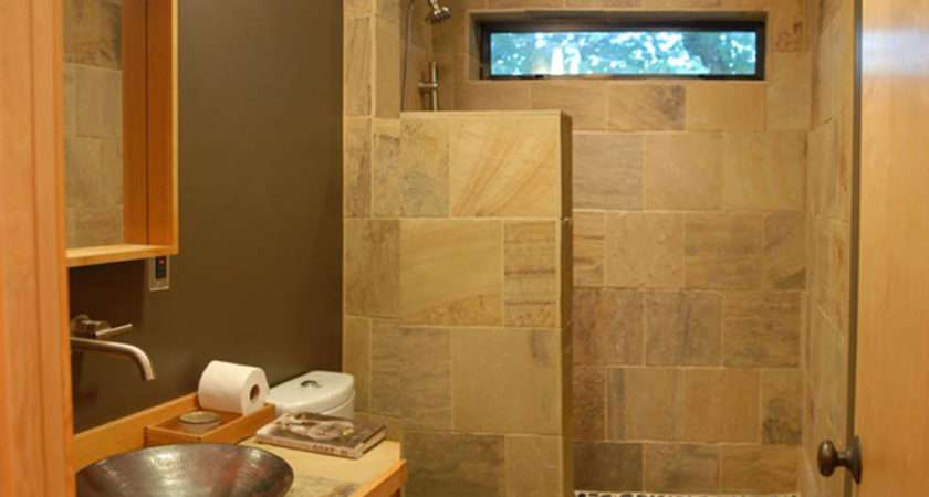 Small Bathroom Position Your Tub Shower Side Maximize
