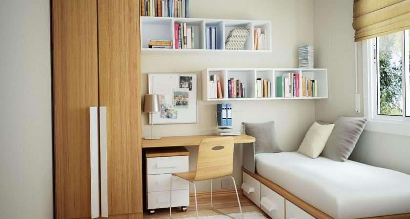 Small Bedroom Design Effective Space Concept Interior Fans