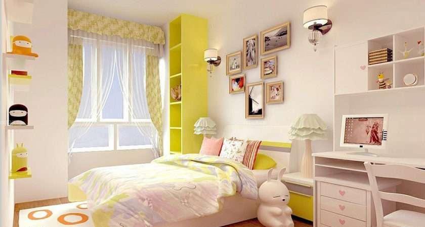 Small Bedroom Design Girl