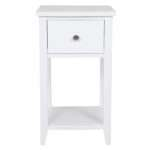 Small Bedside Cabinets White Bedroom End Table