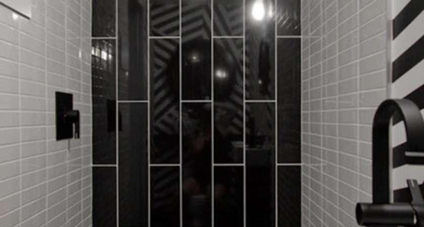 Small Black White Bathroom Tiles Ideas