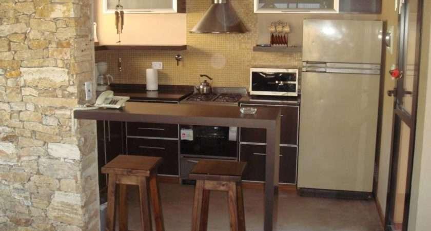 Small Breakfast Bars Perfect Tiny Kitchens