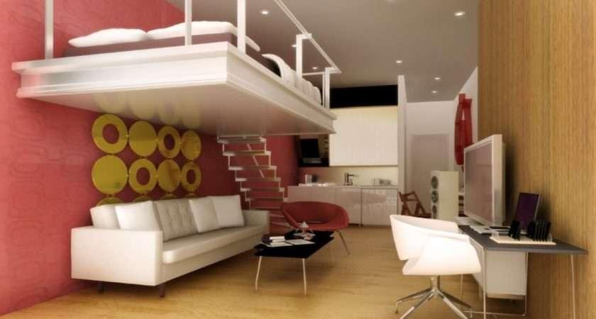 Small Condo Furniture Space Interior Design