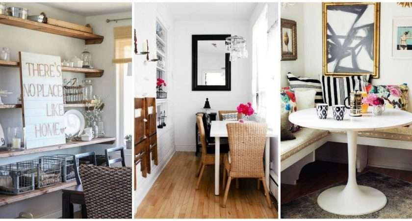 Small Dining Room Ideas Design Tricks Making