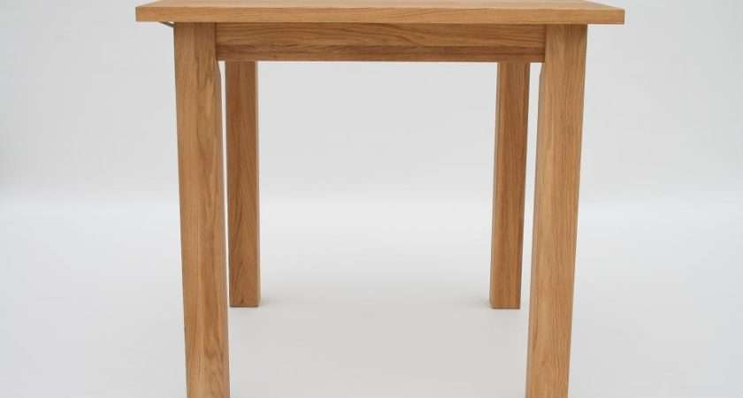 Small Dining Tables Compact Oak