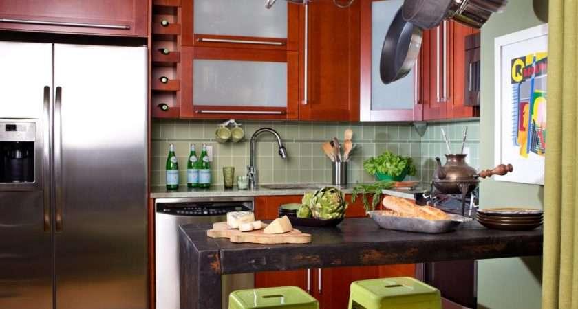 Small Eat Kitchen Ideas Tips Hgtv
