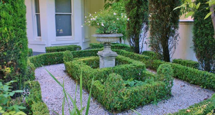 Small Formal Front Garden Flickr Sharing