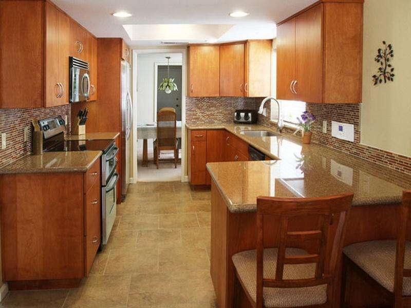 Small Galley Kitchen Remodel Home Design Decor Reviews