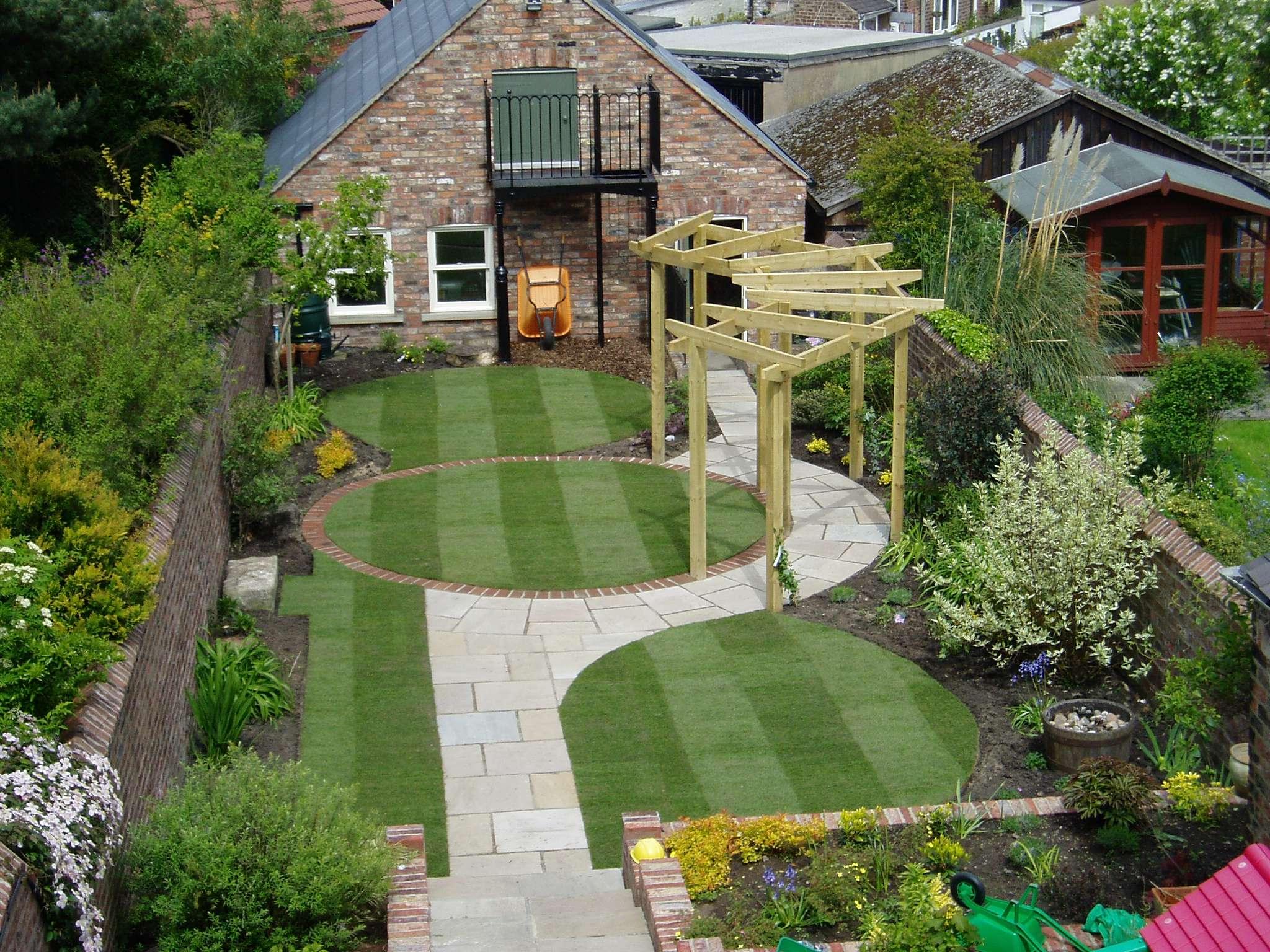 Small Garden Design Examples Native
