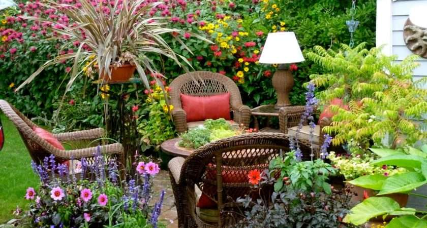 Small Garden Ideas Photograph Gardens Gardening