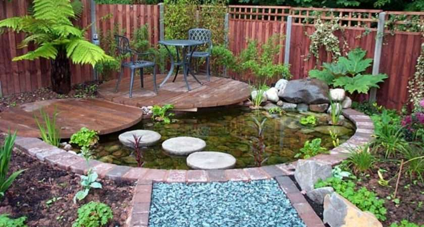 Small Garden Pond Ideas Landscaping Gardening