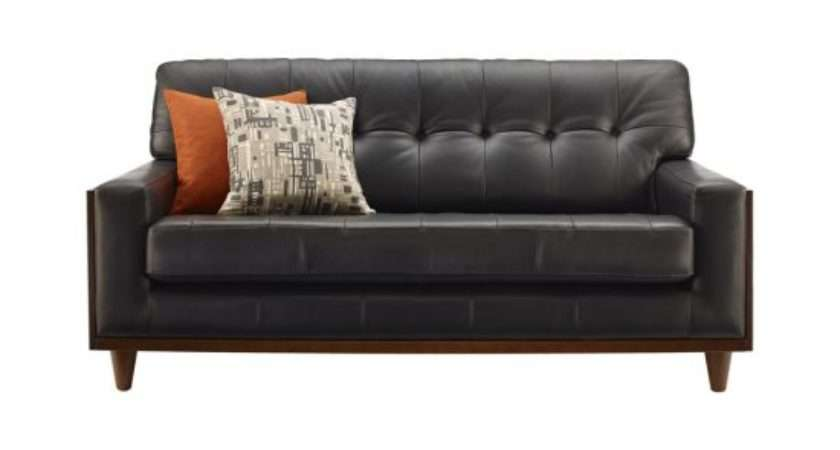 Small Leather Sofas Trendy Comfortable