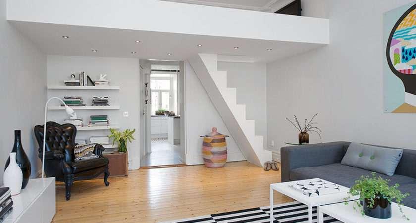 Small Loft Apartment Stockholm Idesignarch Interior Design