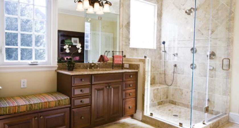 Small Master Bathroom Ideas Make Space Appear Larger