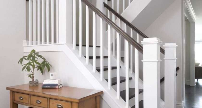 Small Minimalist Home Decorating Ideas Hall Stairs