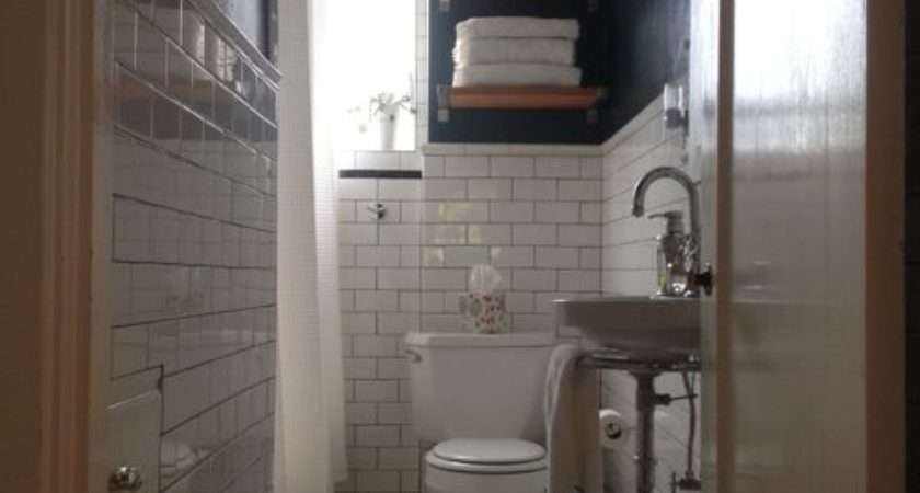Small Narrow Bathrooms Houzz