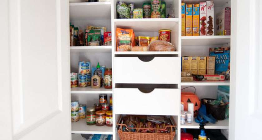 Small Pantries Big Storage