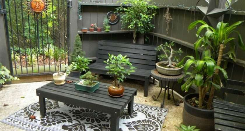 Small Patio Ideas Every Home Gardening Flowers