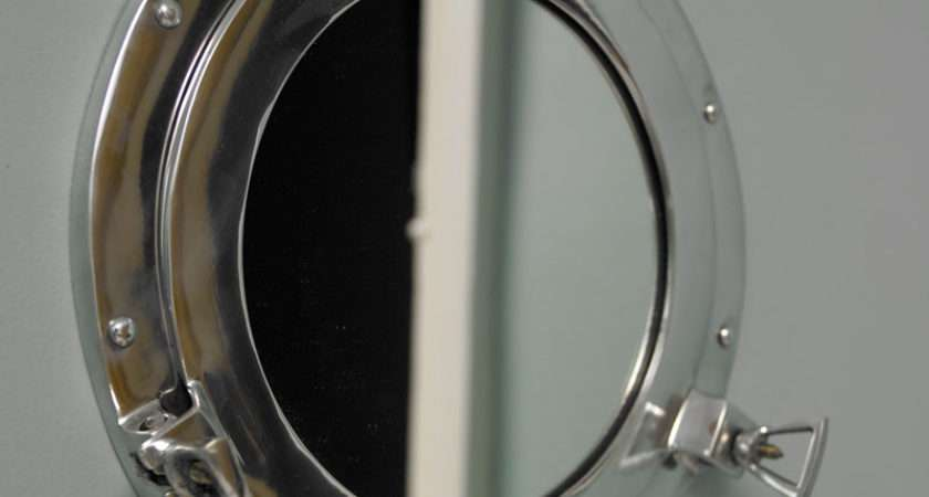Small Porthole Mirror Melody Maison