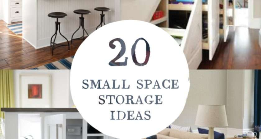 Small Room Design Awesome Storage Solutions