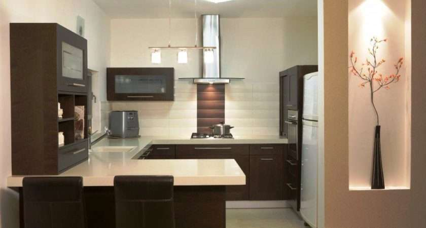 Small Shaped Kitchen Designs Peenmedia