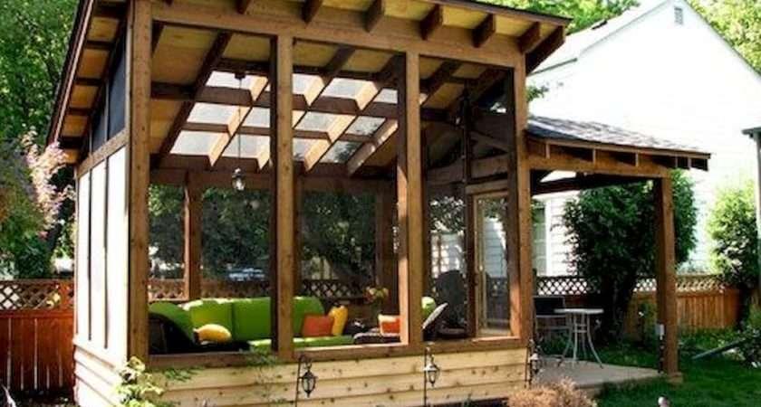 Small Shelter House Ideas Backyard Garden Landscape