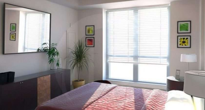 Small Simple Master Bedroom Interior Design