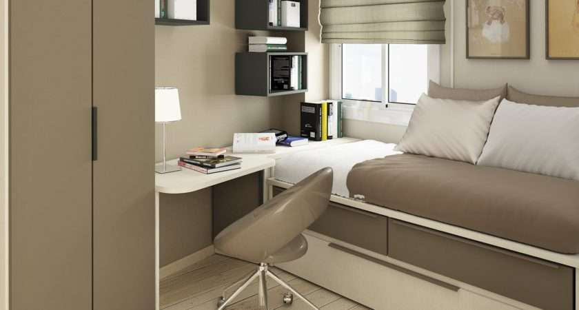 Small Space Bedroom Interior Design Decorating
