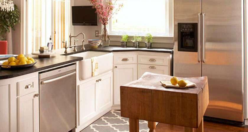Small Space Kitchen Island Ideas Bhg