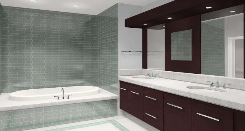 Small Space Modern Bathroom Tile Design Ideas Cool