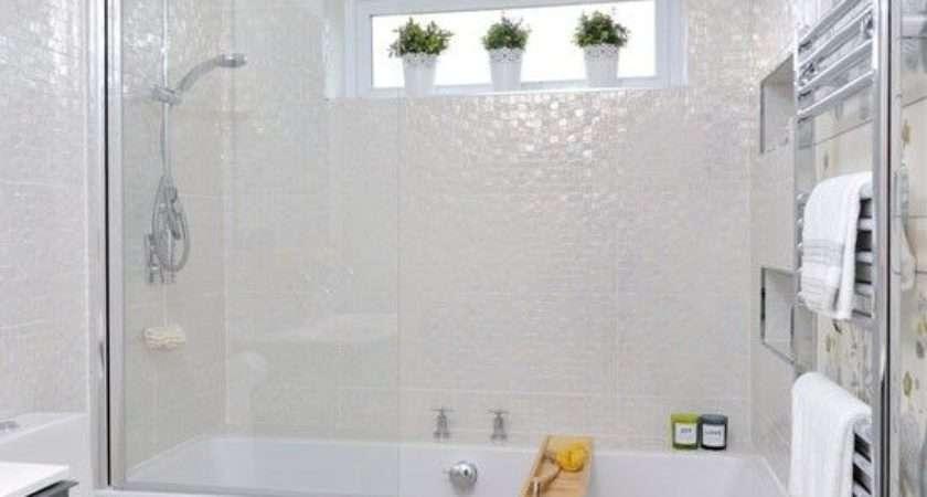 Small White Bathroom Tiles Ideas