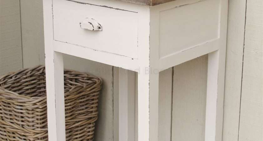 Small White Bedside Table Decor Quickinfoway Interior