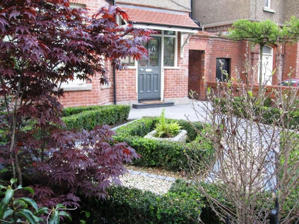 Smart Front Garden Design Dublin Tim Austen - Lentine Marine