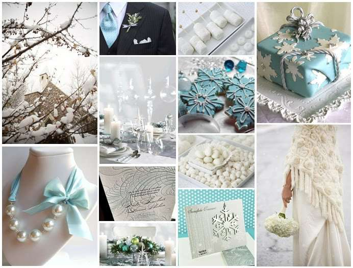 Snowflake Wedding Decorations Romantic Decoration