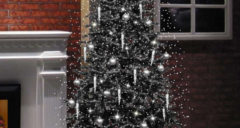 Snowing Christmas Tree