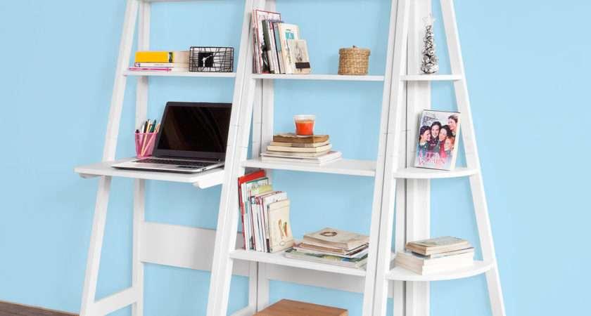 Sobuy Ladder Style Bookcase Shelving Storage Display