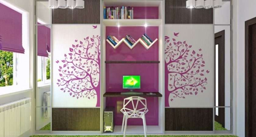 Soft Color Girl Room Cute Feminin Bedroom Ideas Teenage Girls