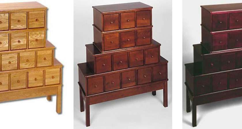 Solid Oak Apothecary Dvd Storage Cabinet Colors Ebay