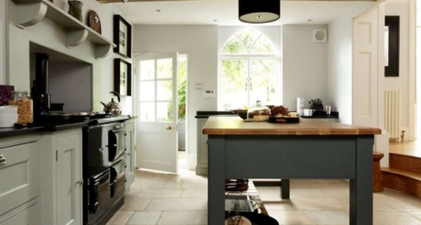 Solid Oak Country Style Kitchen Housetohome