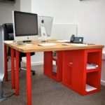 Solid Oak Desk Designer Ikea Hackers