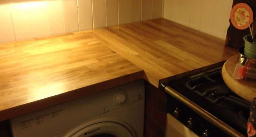 Solid Oak Worktops Supplied Express Fitted