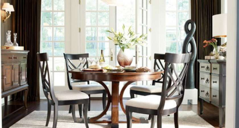 Some Simple Tips Decorating Round Tables Home Design