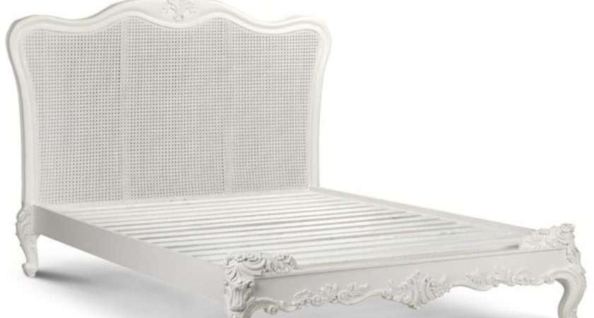Sophia Rattan French Style Bed Beds