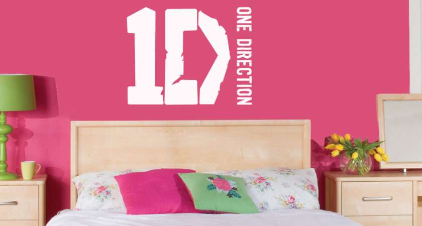 Sophie Jenner Wall Stickers One Direction Lyrics