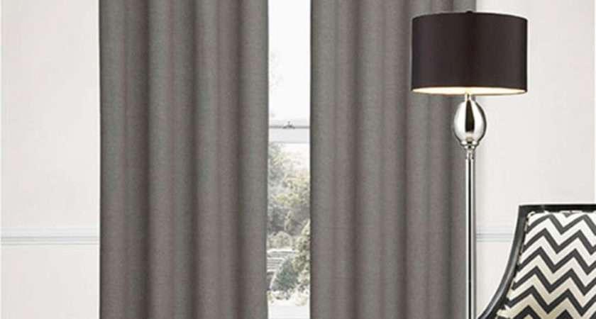 Sorrento Blockout Eyelet Curtains Plain Textured Fabric
