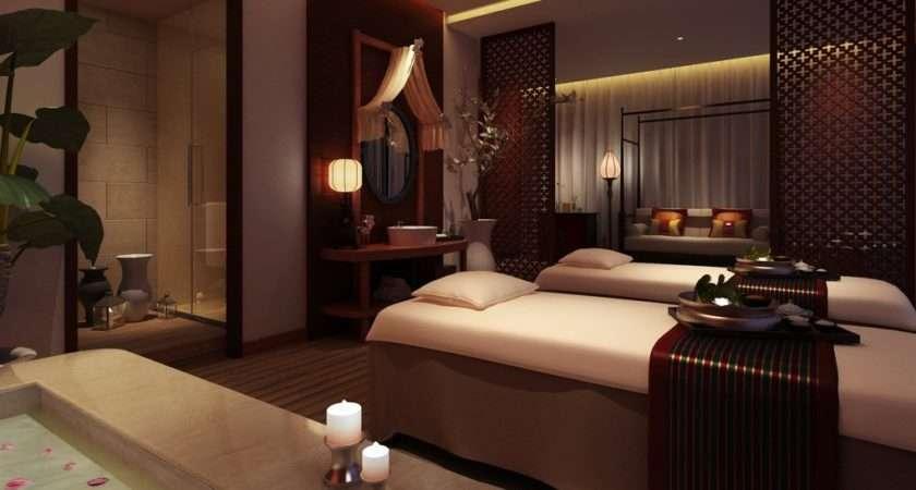 Spa Massage Room Interior Design Ideas