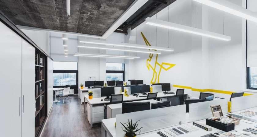 Space Office Decor Color Ideas Cool Open Design Room