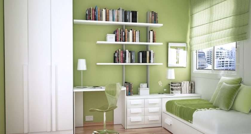 Space Saving Bedroom Designs Small Study Room Ideas
