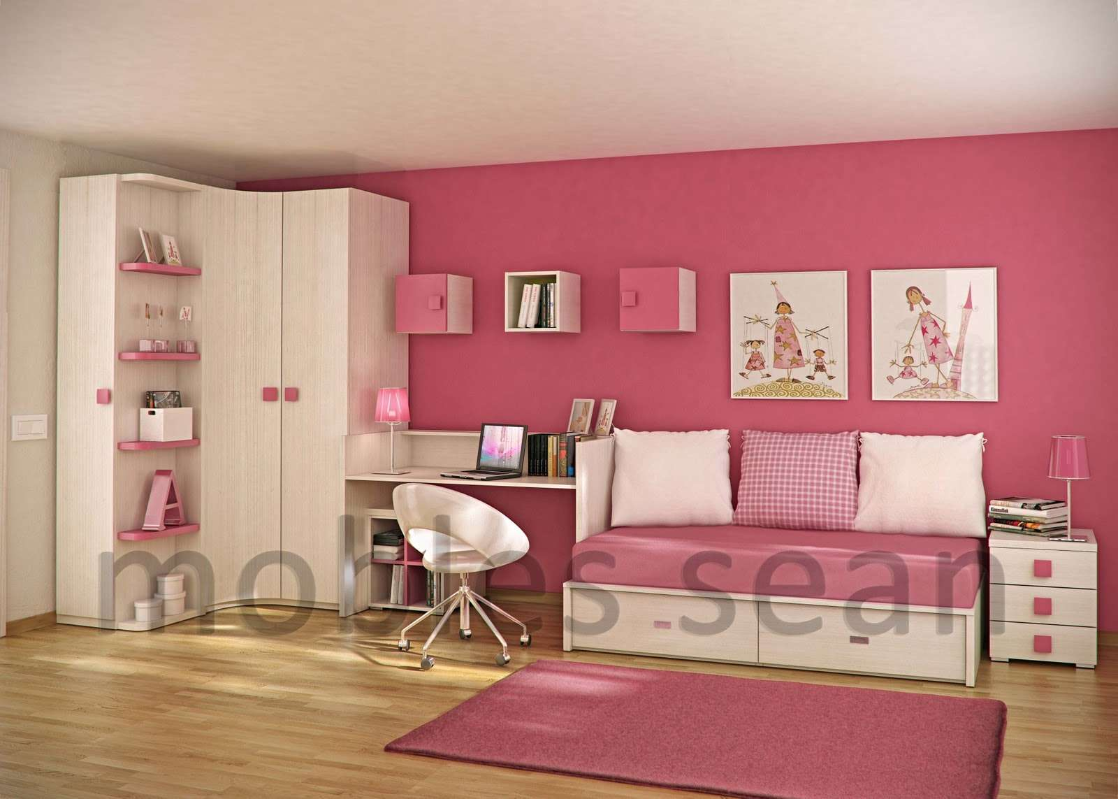 Space Saving Designs Small Kids Rooms