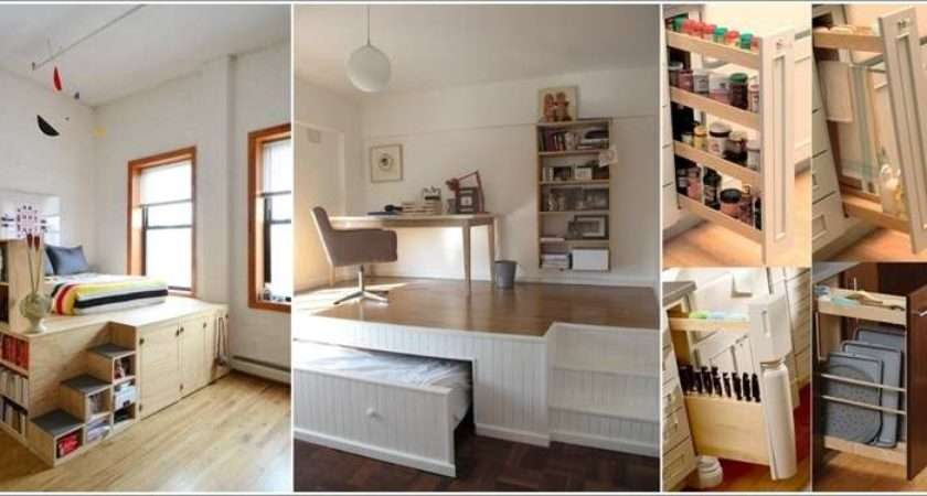 Space Saving Ideas Small Apartments